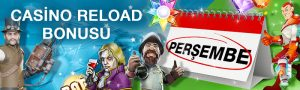 Superbetin casino reload bonusu
