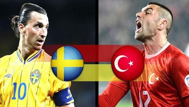 Türkiye - İsveç Hazırlık Maçı