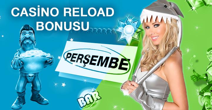 Superbetin Casino Reload Bonusu