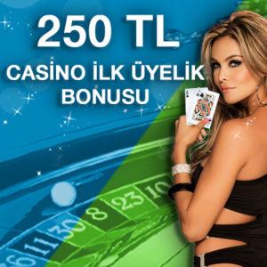 Superbetin Casino İlk Üyelik Bonusu
