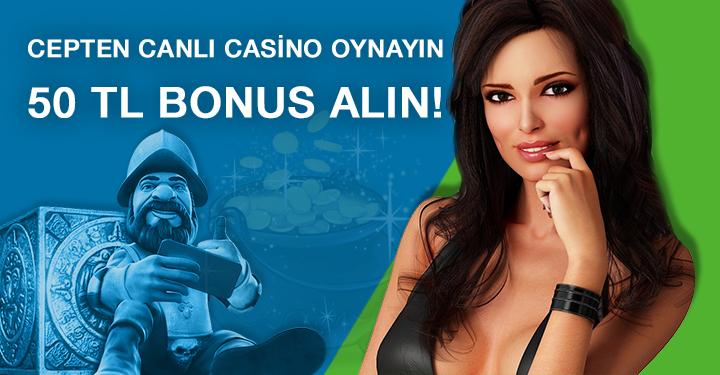 Superbetin Cepten Canlı Casino Oynayın