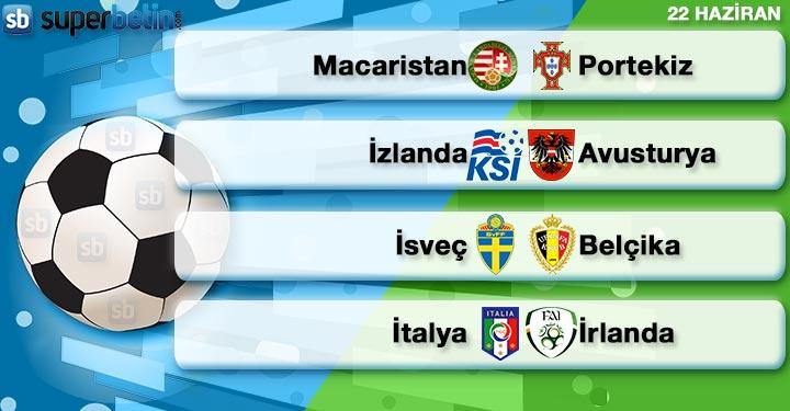 Süperbetin 22 Haziran Euro 2016
