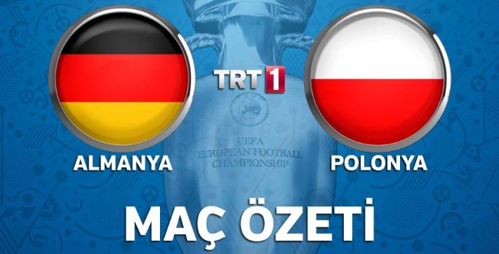 Almanya 0-0 Polonya genis ozet izle