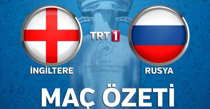 Euro 2016 İngiltere Rusya Geniş Maç Özeti izle