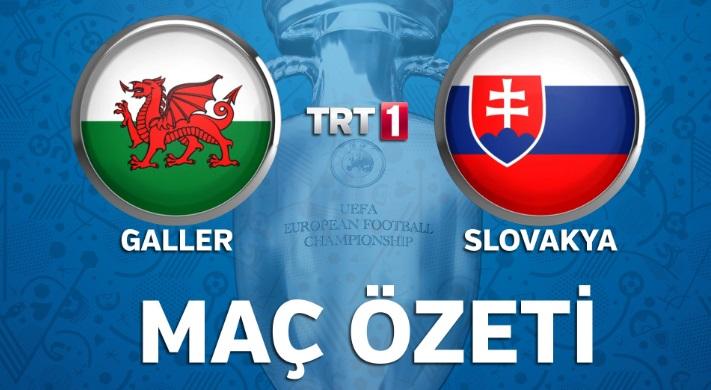 Euro 2016 Galler - Slovenya 2-1 Geniş Maç Özeti izle