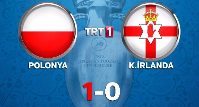 Polonya vs Kuzey İrlanda maç özeti