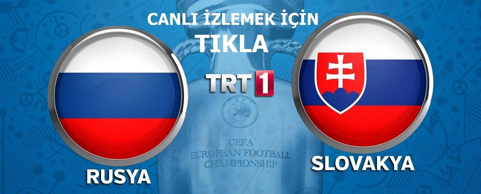 Rusya-Slovakya-Canli-izle