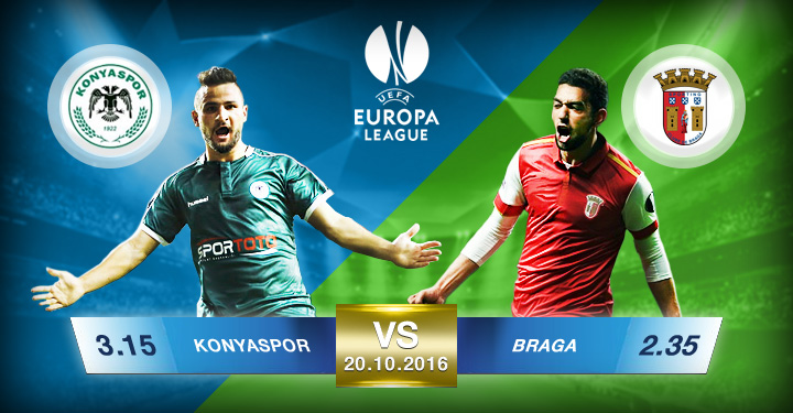 Süperbetin Konyaspor - Braga EURO League