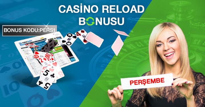 Superbetin Casino Reload Bonusu Kodu: PERS1