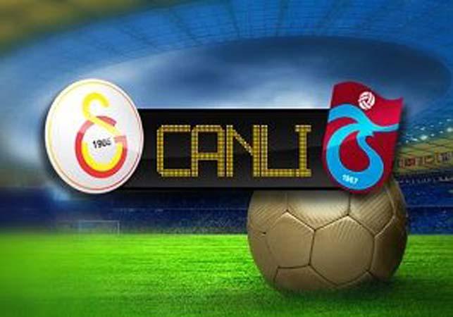 Superbetin Galatasaray - Trabzonspor Canlı