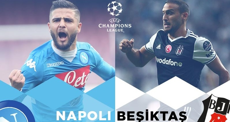 Süperbetin Napoli - Besiktas mac ozeti