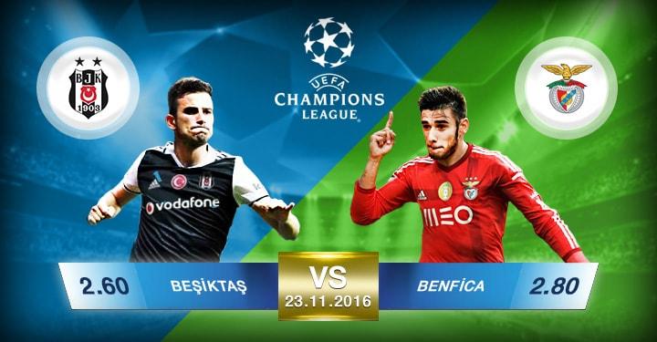 Süperbetin Besiktaş - Benfica Oran