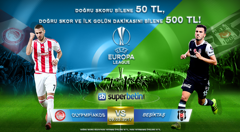 Olympiakos Besiktaş Gol Dakika Tahmini