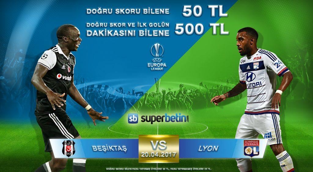 Beşiktaş Lyon Skor Tahmin Kazananları