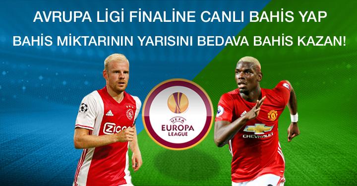 UEFA Avrupa Ligi Finaline Bahis Yap, Bedava Bahis Kazan