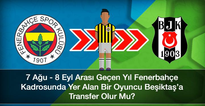 Fenerbahçe Beşiktaşa Transfer Tekrar Olurmu
