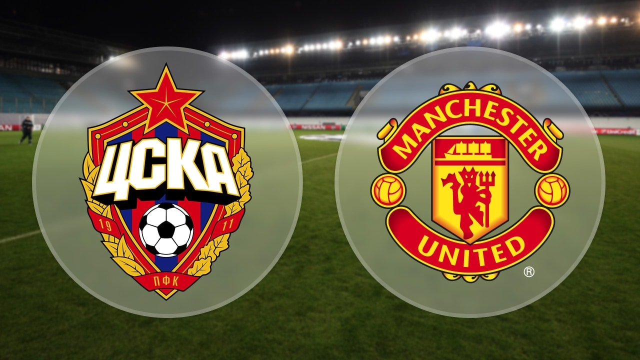 CSKA Moscow Manchester United Maçı