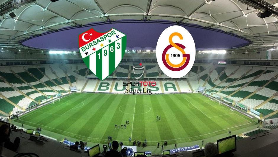 Bursaspor Galatasaray Maçı Canlı izle