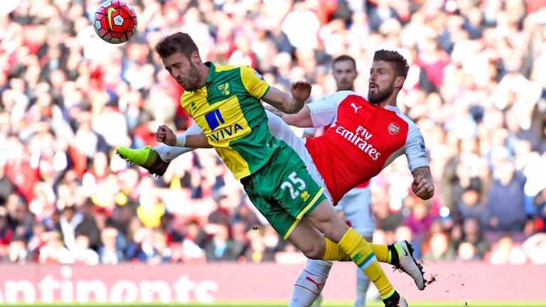 Arsenal Norwich City Maçı