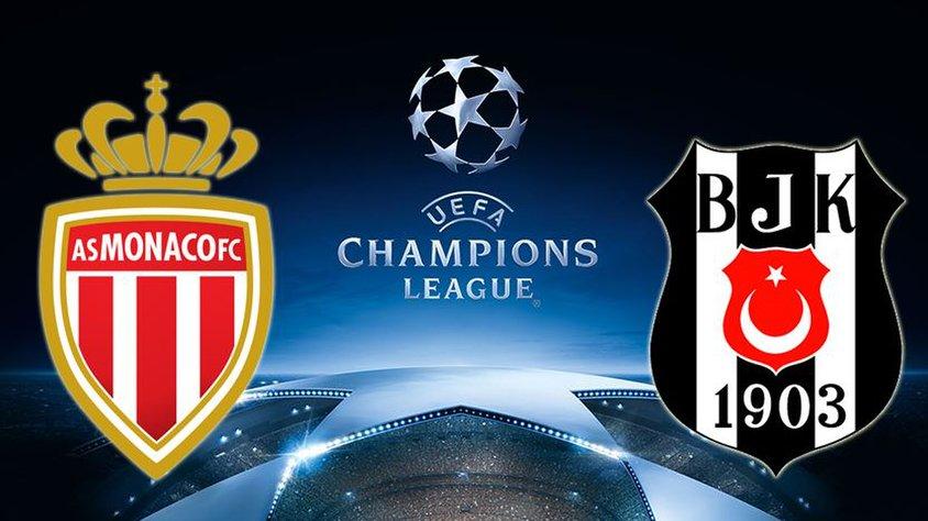 Monaco Beşiktaş Maçı Canlı İzle 17 Ekim 2017