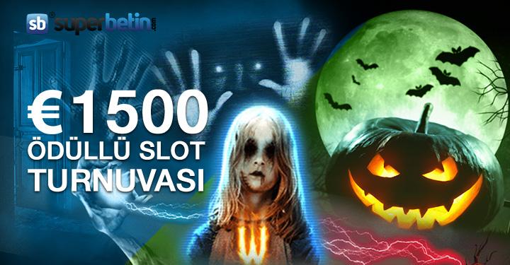 1500 Euro Ödüllü Slot Turnuvası