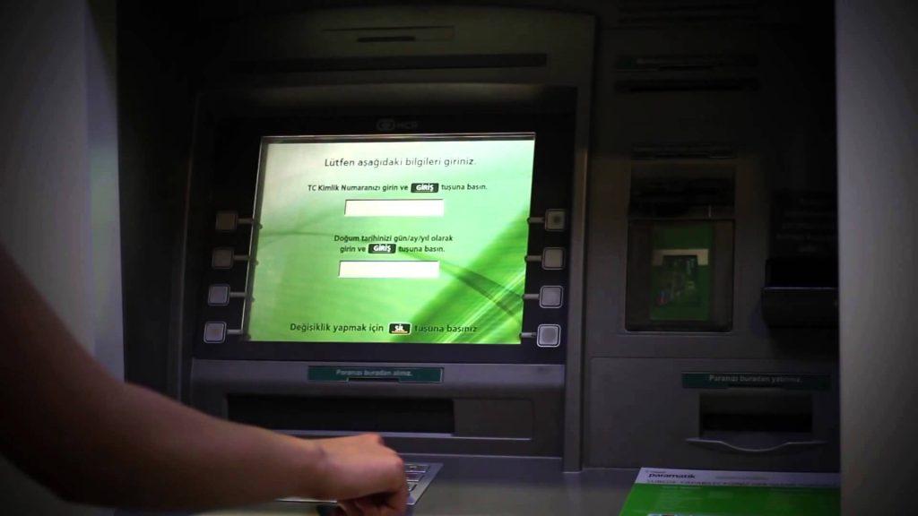 Cepbank Atm'den Para Gönderme