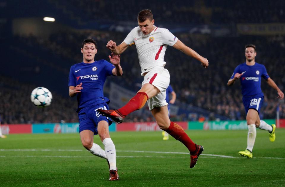 Roma Chelsea Maçı