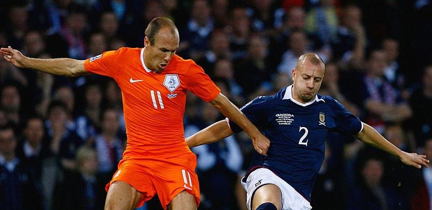 İskoçya Hollanda Maçı