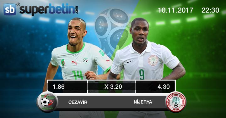 Cezayir Nijerya Maçı Canlı İzle 10 Kasım