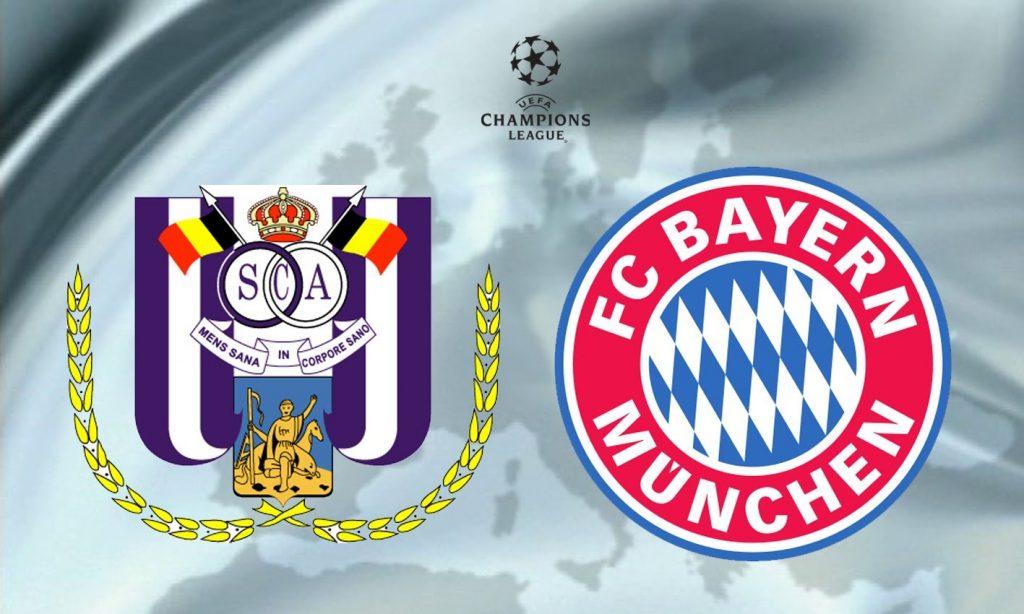 Anderlecht Bayern München Maçı