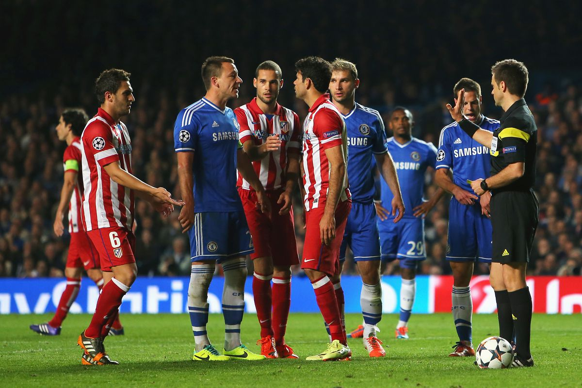 Chelsea Atletico Madrid Maçı