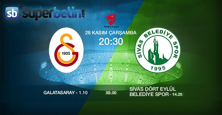 Galatasaray Sivas Belediyespor Maçı