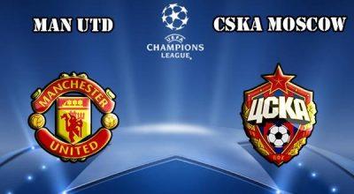 Manchester United CSKA Moscow Maçı