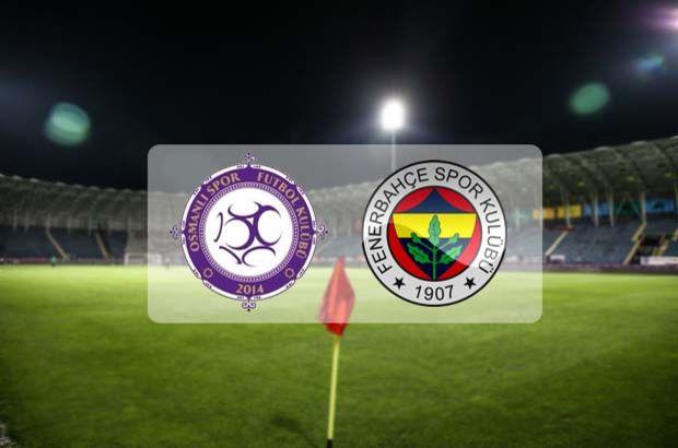 Osmanlıspor Fenerbahçe Maçı