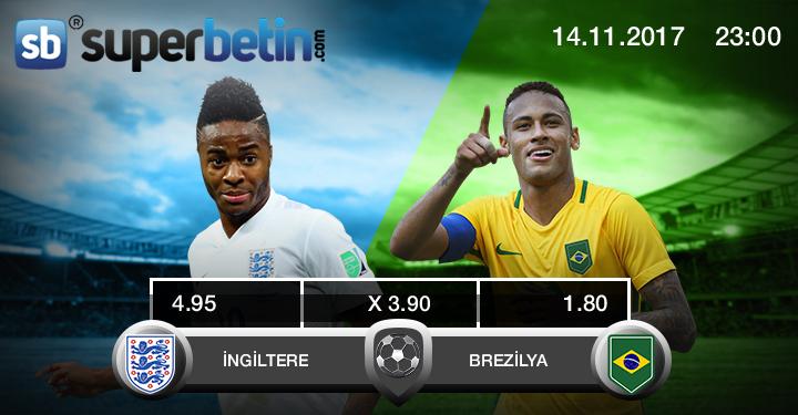 İngiltere Brezilya Maçı