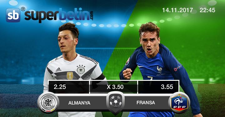 Almanya Fransa Maçı