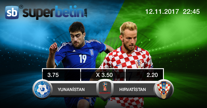 Yunanistan Hırvatistan Maçı