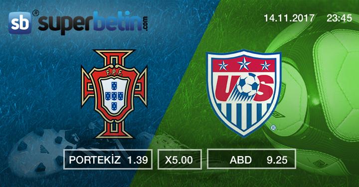 Portekiz ABD Maçı