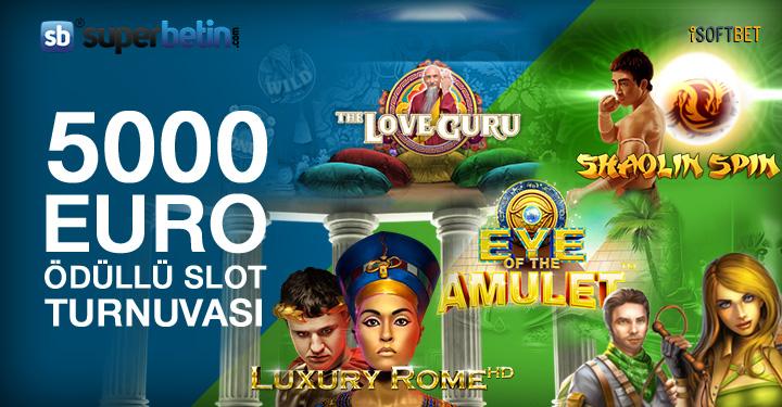 5000 Euro Ödüllü Slot Turnuvası