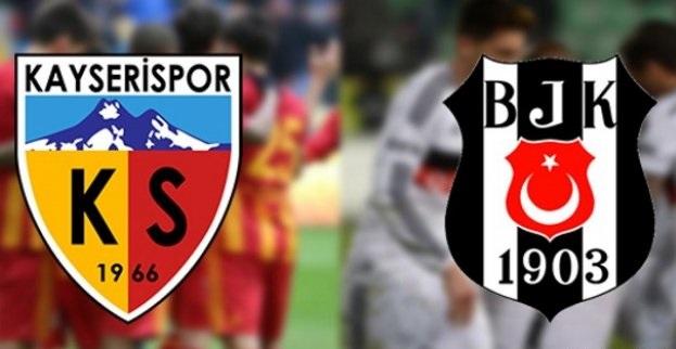 Kayserispor Beşiktaş Maçı