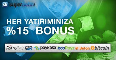 Para Yatırma Bonusu