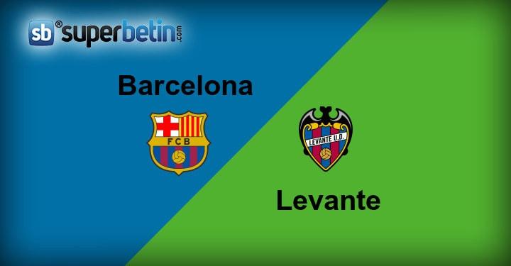 Barcelona Levante Maçı Canlı İzle