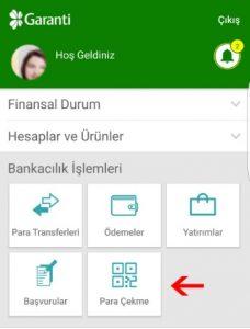 Garanti Bankası Qr ile Yatırım