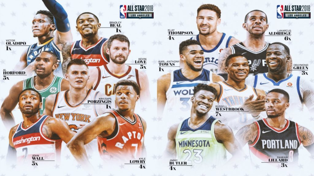 2018 NBA ALL STAR