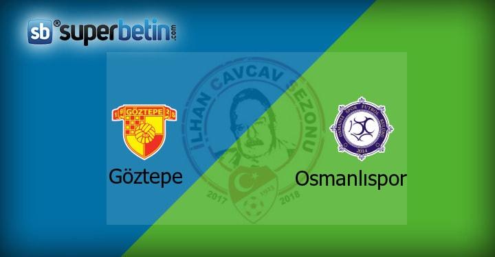 Göztepe Osmanlıspor Maçı Canlı İzle