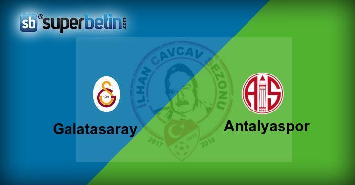 Galatasaray Antalyaspor Maçı Canlı İzle