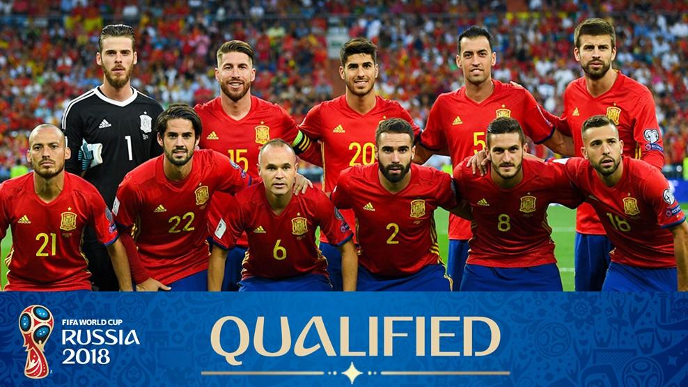 2018 Fifa Dünya Kupası İspanya