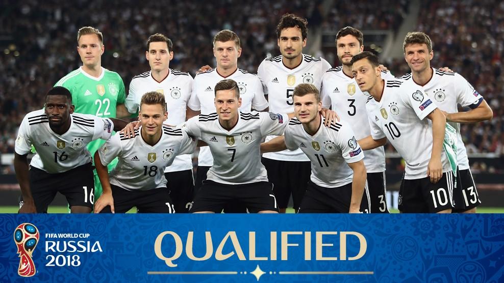 2018 Fifa Dünya Kupası Almanya