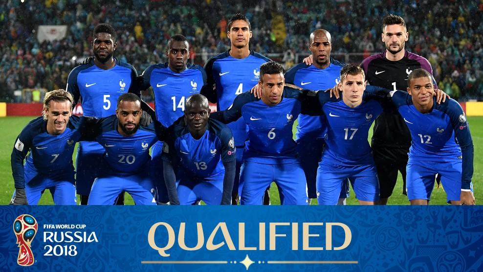 2018 Fifa Dünya Kupası Fransa