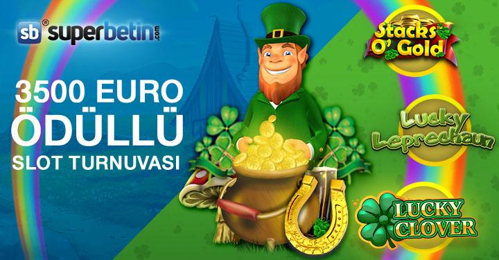 3500 Euro Ödüllü Slot Turnuvası